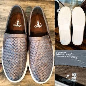Corky's Sz 9 * Powder Brush Bronze Slip On Shoes